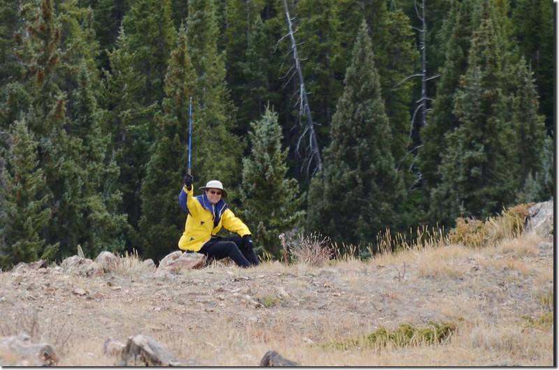 Taken from Ptarmigan Peak Trail near 11,600 ft (100)
