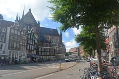 View of De Nieuwe Kirk in Amsterdam