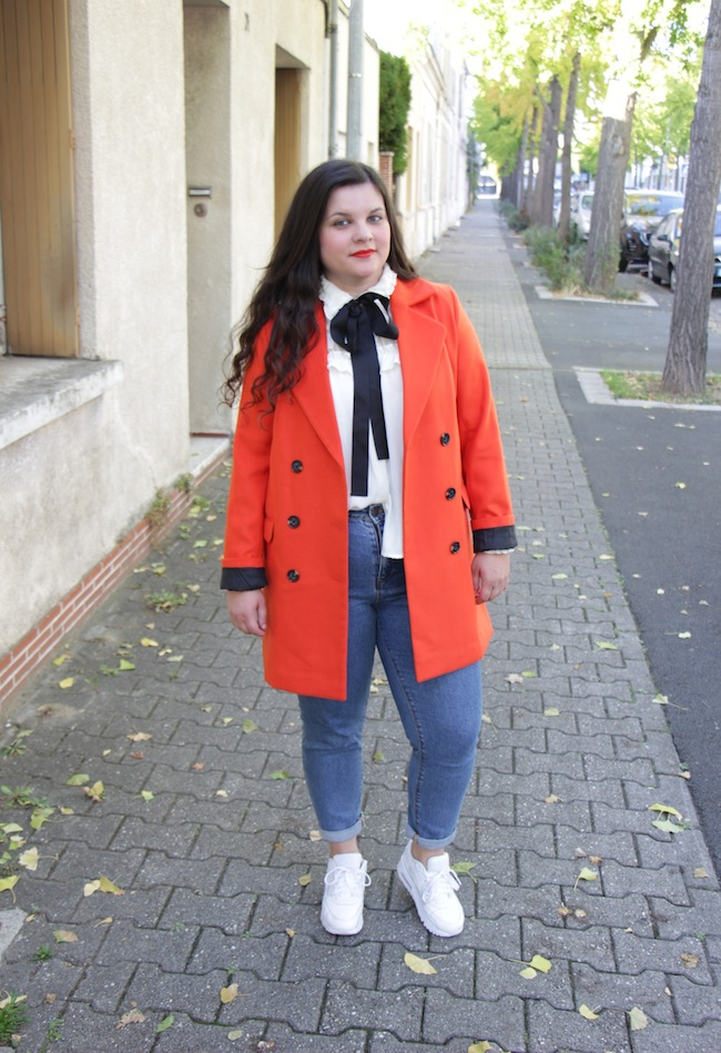comment-porter-manteau-orange-blog-mode-la-rochelle-7
