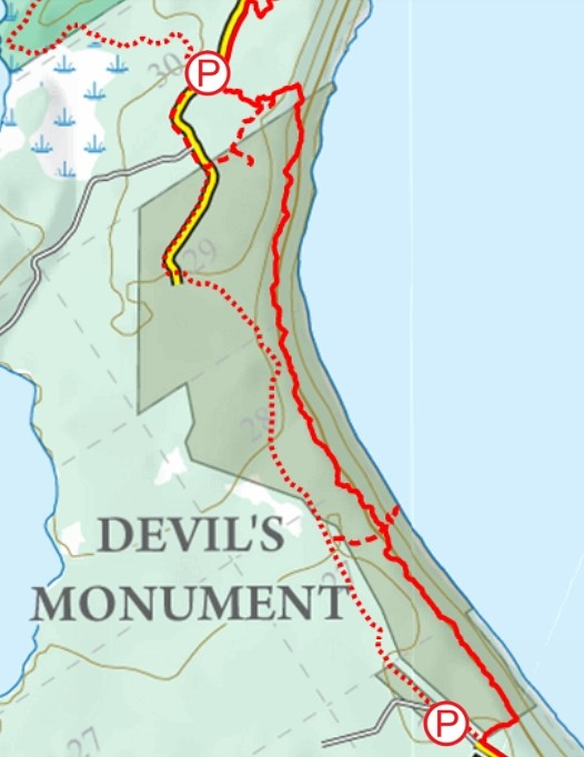 Bruce Trail: Devils Monument for birthday adventures