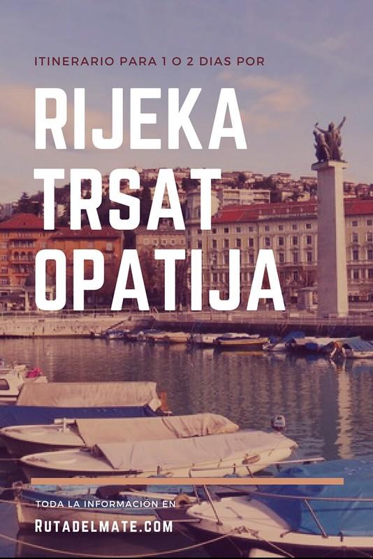 Que ver en Rijeka, Opatija y Trsat