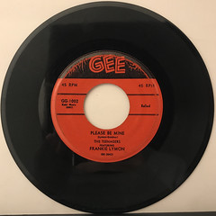 THE TEENAGERS FEATURING FRANKIE LYMON:WHY DO FOOLS FALL IN LOVE(RECORD SIDE-B)