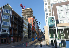Construction of 1363 Hollis - Halifax, September 2018