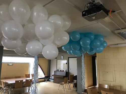 Heliumballonnen Felicitas Kerk Heemraadlaan Spijkenisse
