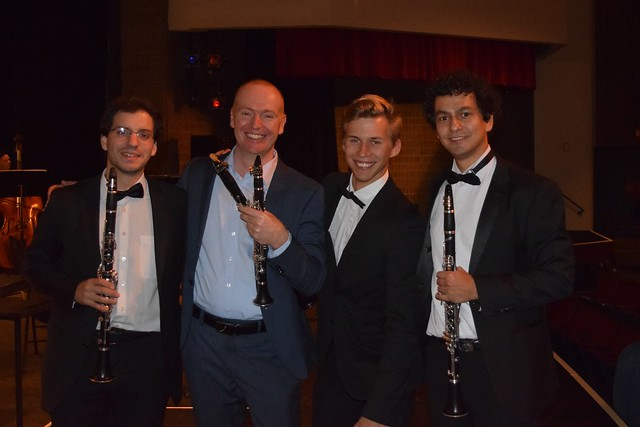 four clarinetists