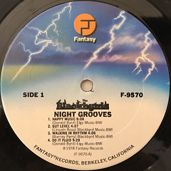 THE BLACKBYRDS:NIGHT GROOVES(LABEL SIDE-A)