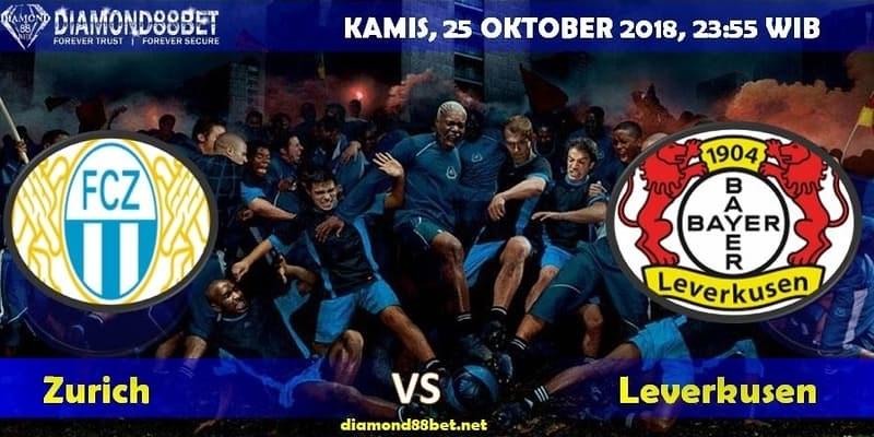 Live Prediksi Bola Zurich vs Leverkusen 25 Oktober 2018
