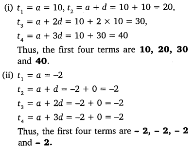 NCERT Solutions for Class 10 Maths Chapter 5 Arithmetic Progressions 4