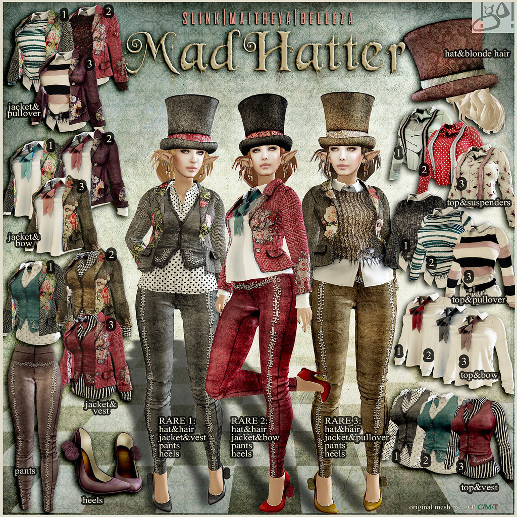 !gO! Mad Hatter - gaha key - TeleportHub.com Live!