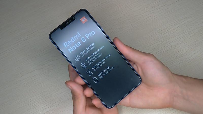 Xiaomi Redmi Note 6 Pro 開封 (16)