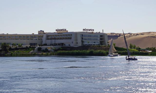 Der Nil bei Assuan, Sony SLT-A77V, Tamron 16-300mm F3.5-6.3 Di II PZD