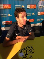 Adam Yates, Orica-BikeExchange - Photo of Villiers-Fossard
