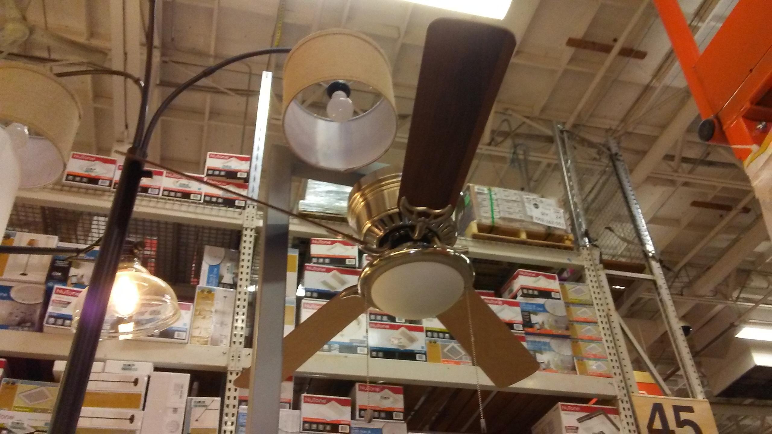 Ceiling Fans At The (Beaverton) Home Depot   Vintage Ceiling Fans