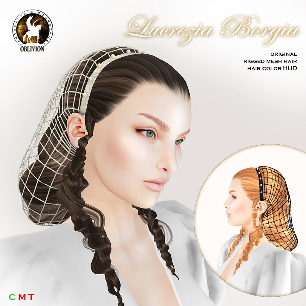 HAIR FAIR 2018 !F&M Oblivion Lucrezia Borgia - TeleportHub.com Live!