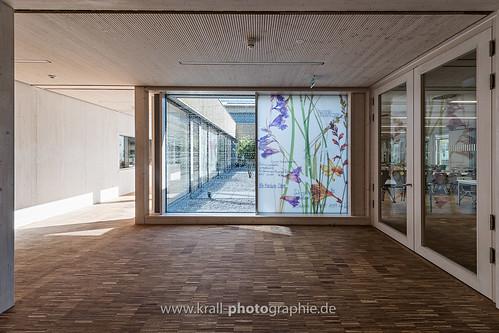Lichthof und Kunst