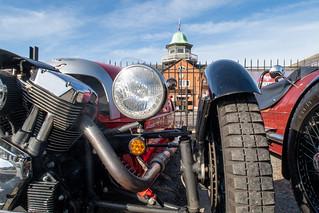 Brooklands Morgan Day 2018 - Morgan 3-wheeler