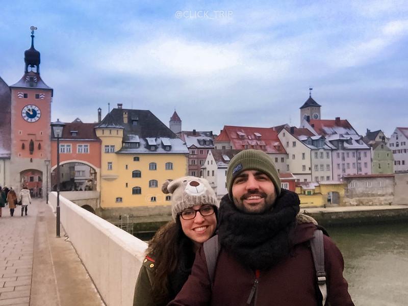 · Regensburg en un día · Puente piedra ·