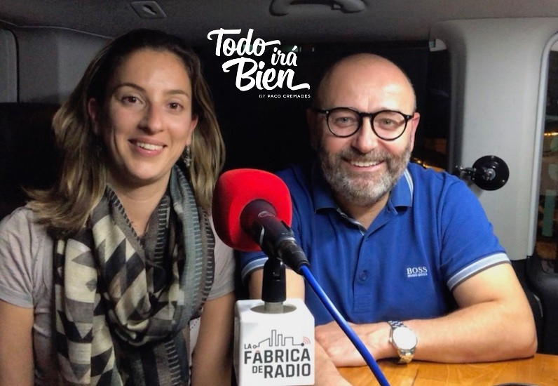 Foto 2018 10 17 Mila Martinez La Fabrica de Radio Todo ira Bien Paco Cremades