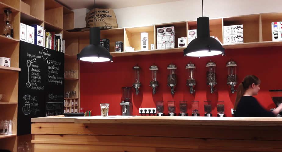 Koffie drinken in het centrum van Antwerpen: Caffe Mundi, Antwerpen | Mooistestedentrips.nl