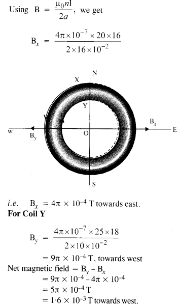 NCERT Solutions for Class 12 Physics Chapter 4 Moving Charges and