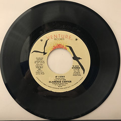 CLARENCE CARTER:LET'S BURN(RECORD SIDE-B)