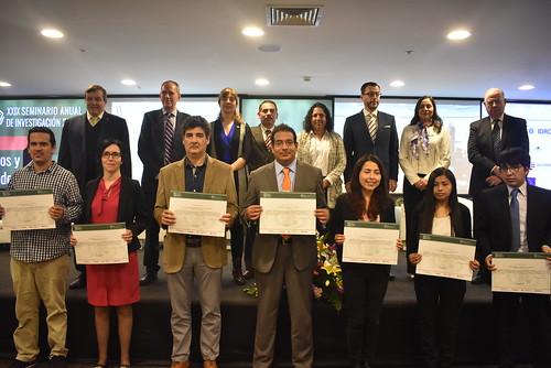 Premiación a Ganadores del XX Concurso de Investigación Anual 2018