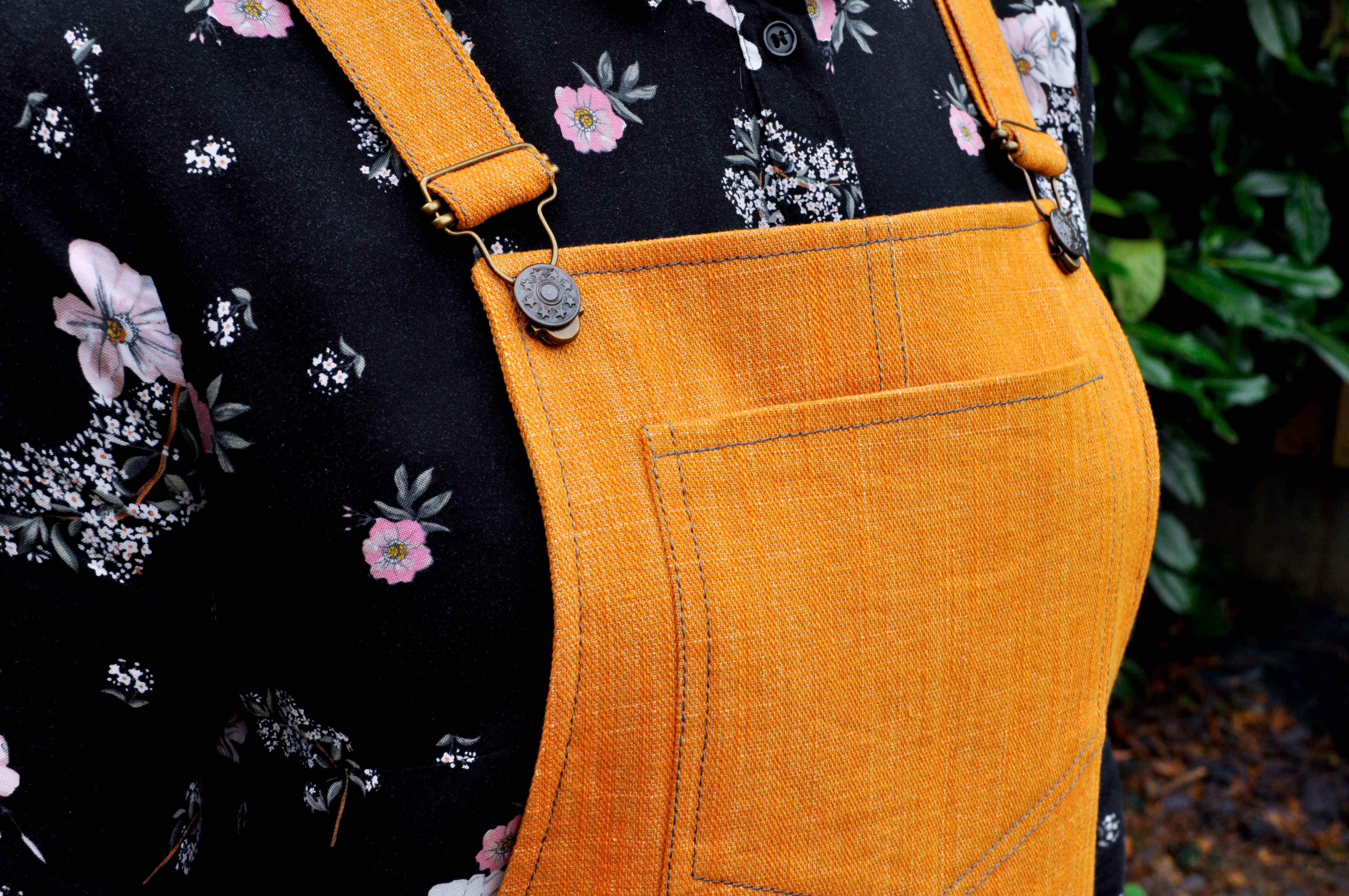 Cleo Dungarees by Tilly and the Buttons