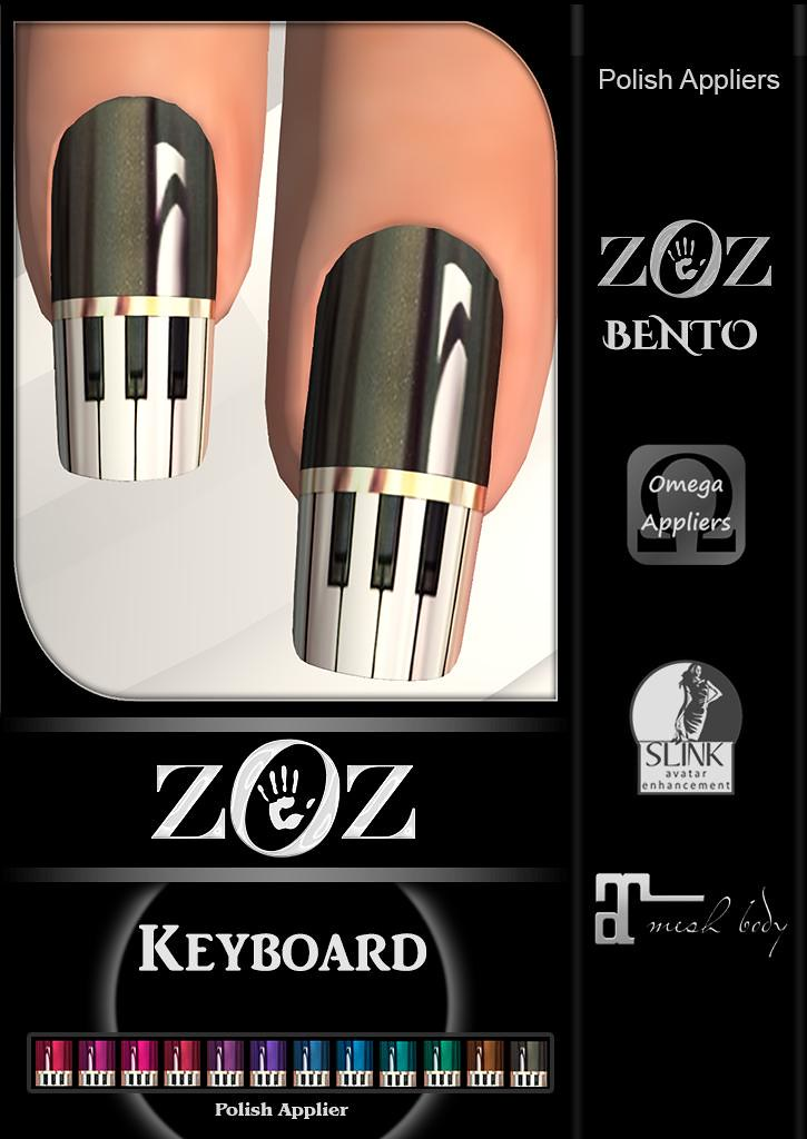 {ZOZ} Keyboard Pix L - TeleportHub.com Live!