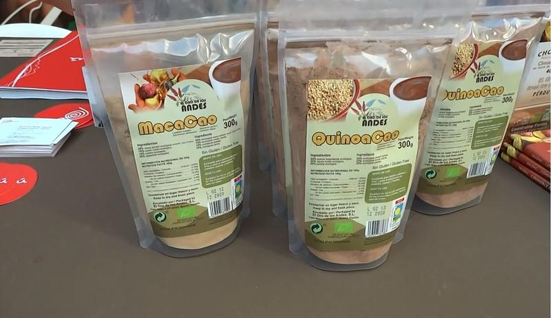cacao con maca, cacao con quinua