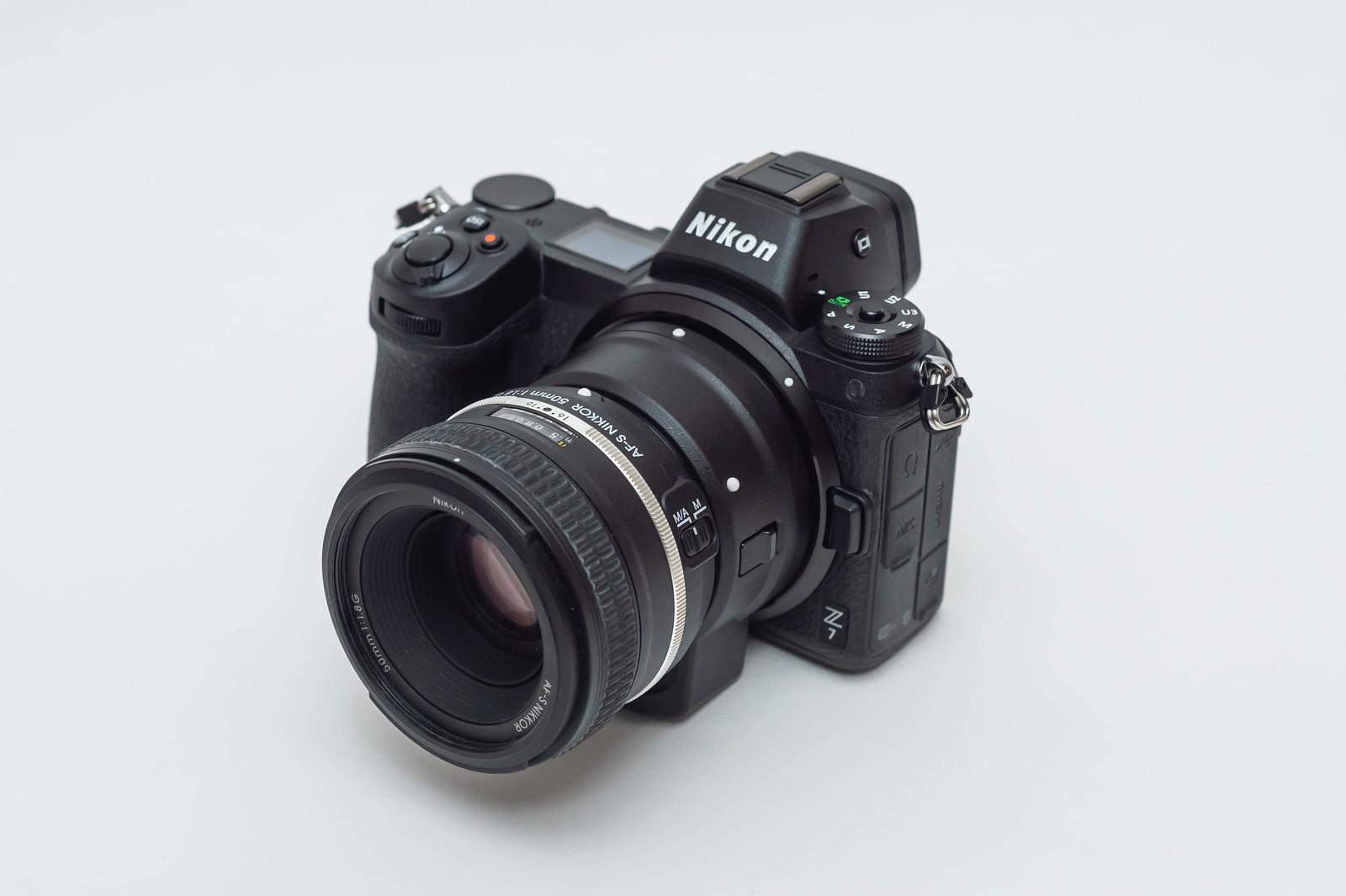 Nikon Z7 + FTZ + AF-S NIKKOR 50mm f/1.8G