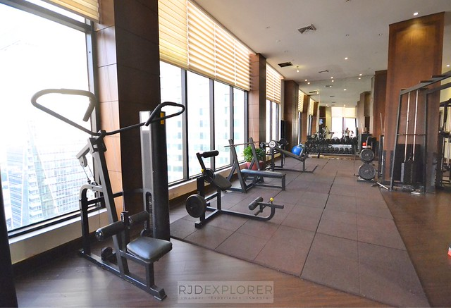 city garden hotel makati fitness center