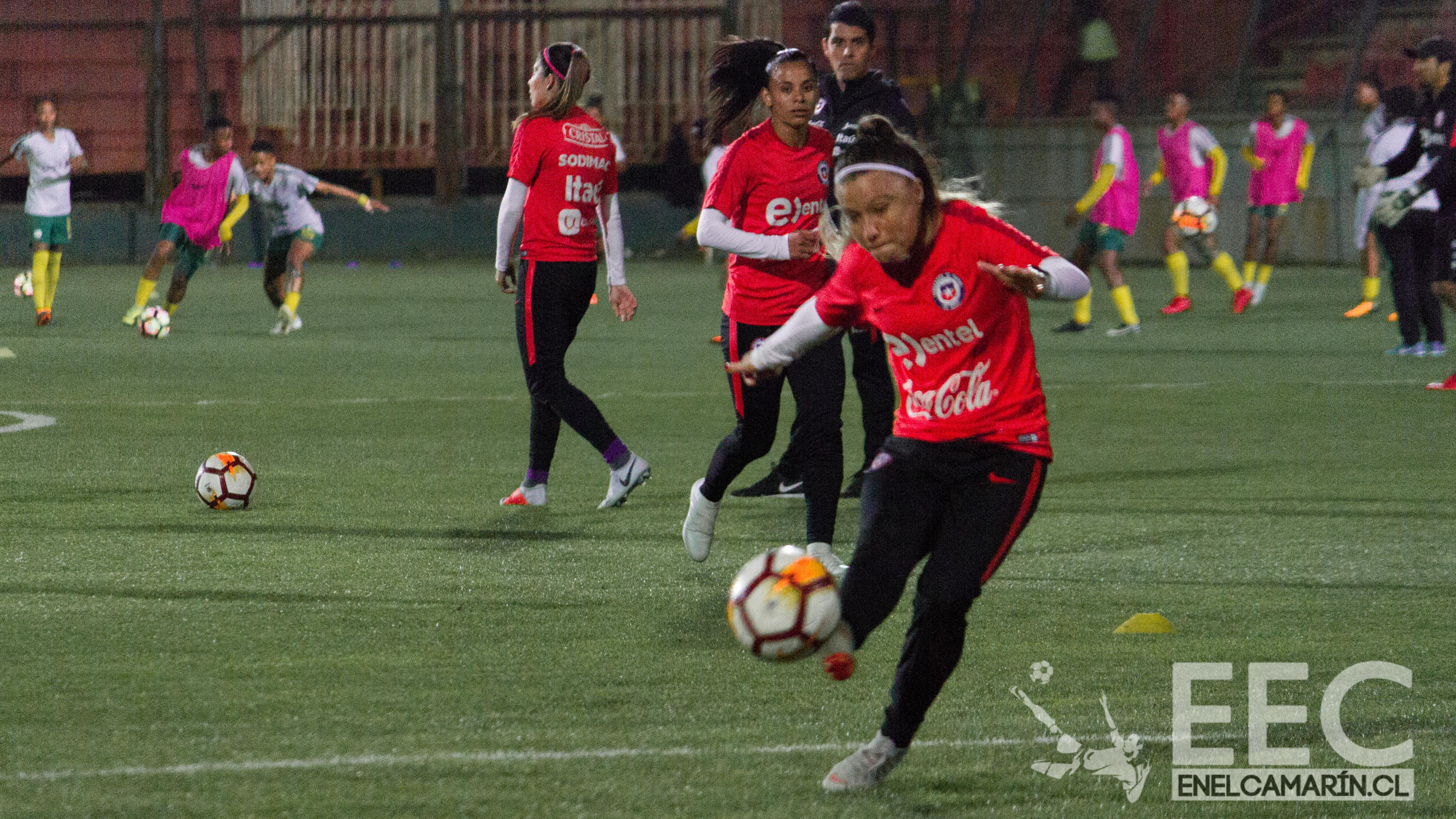 Selección Femenina Chile 2 - Selección Femenina Sudafrica 2
