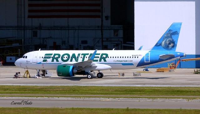 Frontier - N341FR - A320-251N