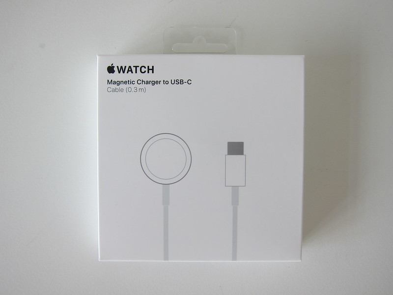 Apple Watch Magnetic Charger to USB-C Cable - Box Front