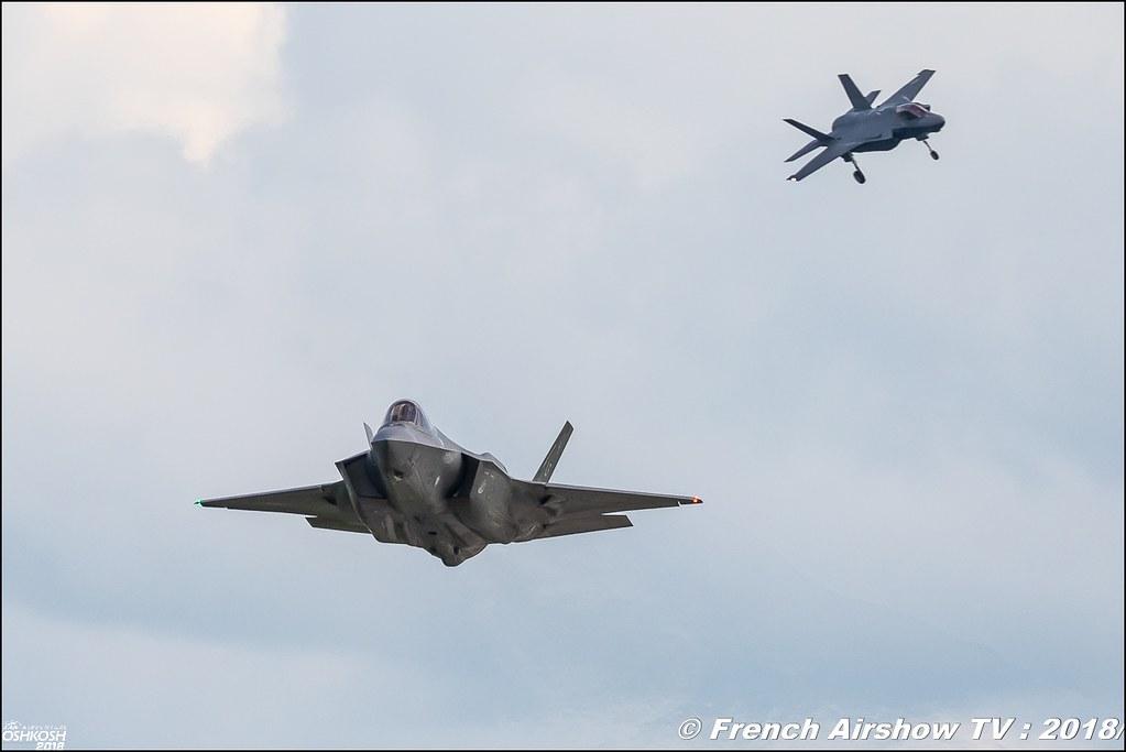 Lockheed Martin F-35 Lightning II Review eaa oshkosh airventure airshow meeting aerien
