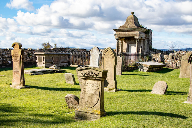 Lindisfarne New Priory Graveyard - Holy Island