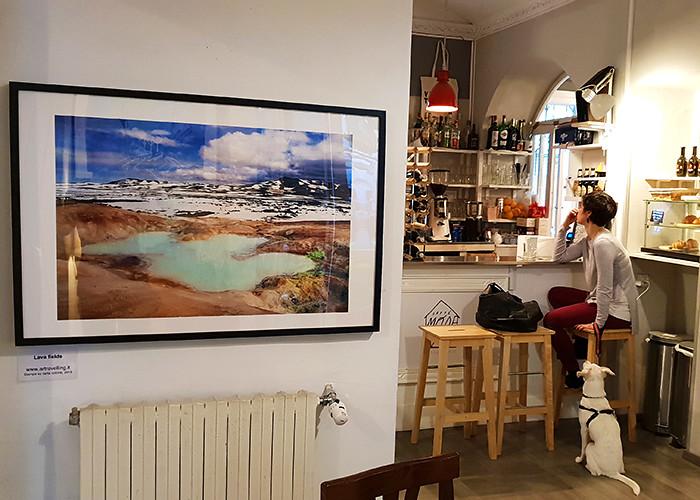 Caffè Moderno, Torino, Exhibition