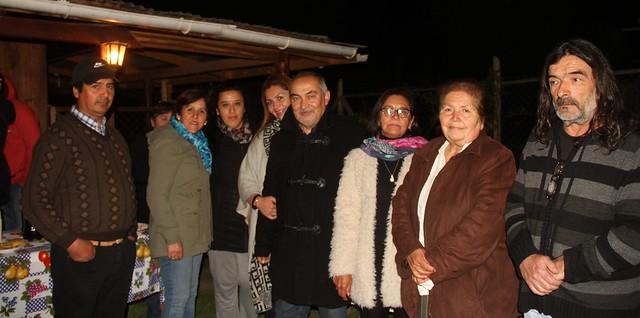Alcalde de Coltauco junto autoridades comunales inauguran luminarias led en el sector de Idahuillo