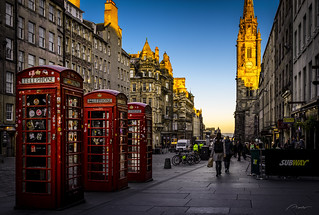 The Royal Mile, Edinburgh, Scotland, UK