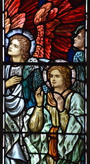 Angels at the Ascension of Christ (William Glasby, 1926)
