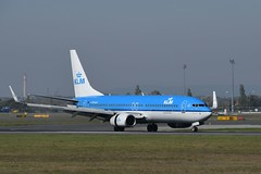 LOWW - Vienna (VIE) - KLM Royal Dutch Airlines - Boeing 737-8K2 PH-BXK - Flight KL1845 from Amsterdam (AMS)