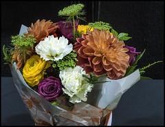 Bouquet of pretty Flowers-1=