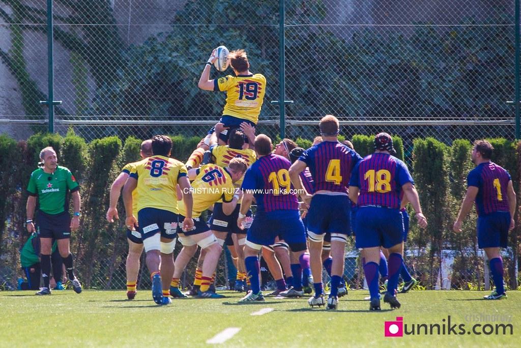 Rugby: FC Barcelona - UE Sant Boiana