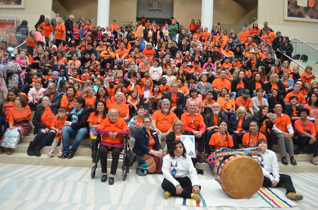 Orange Shirt Day 2018 - Edmonton