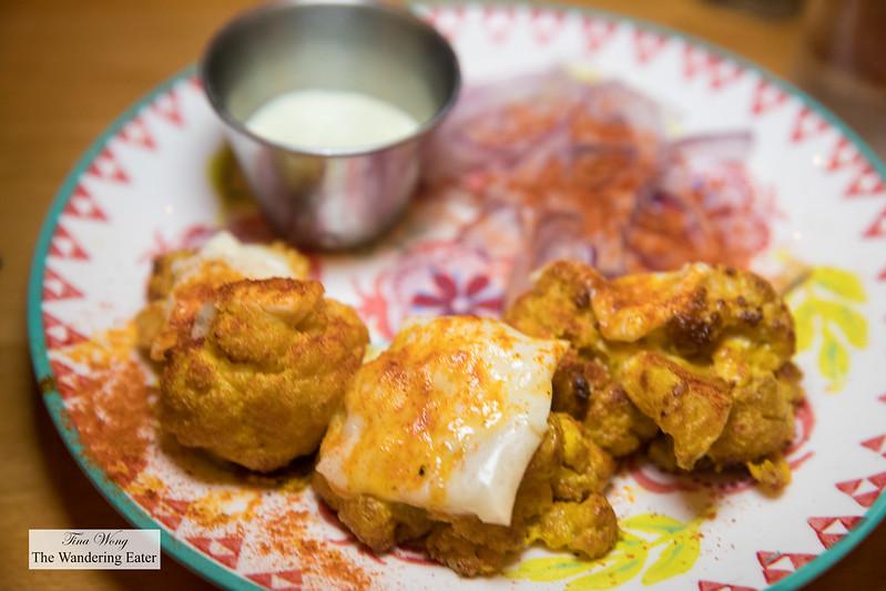 Tandoori Gobi - Cauliflower, garlic, ginger, Amul cheese