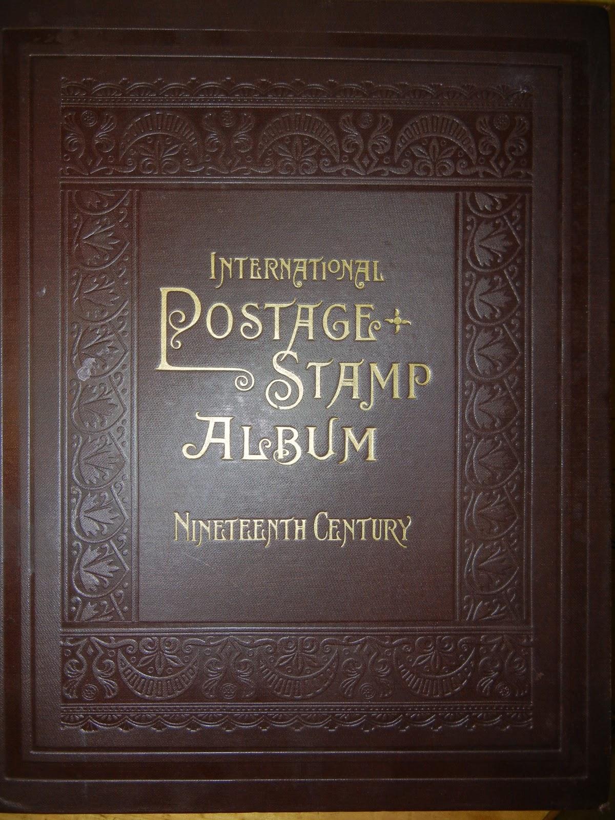 Scott International Postage Stamp Album for Nineteenth Century stamps