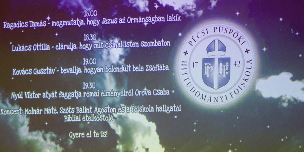 Kutatók Éjszakája - PPHF - 2018.10.02