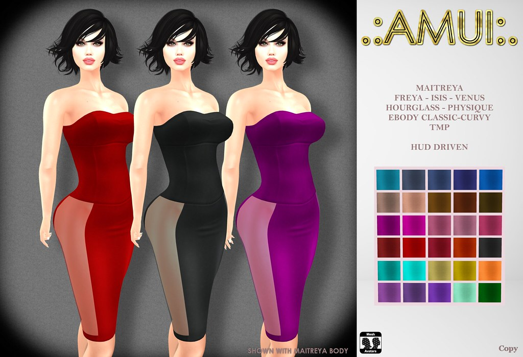 ".:AMUI:. ""Zulima"" Dress"