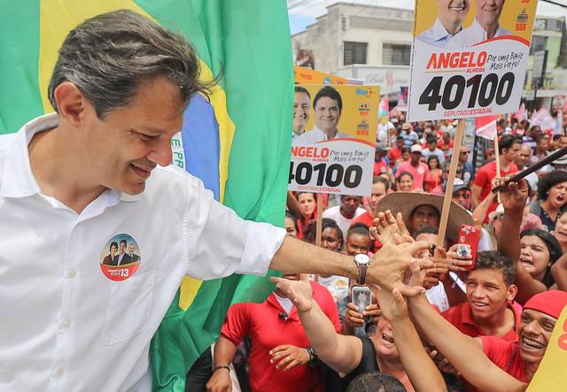 Fernando Haddad é professor universitário e foi ministro da educação no governo Lula - Créditos: Foto: Ricardo Stuckert