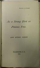 Penn Libraries 811W 1872.2: Title page